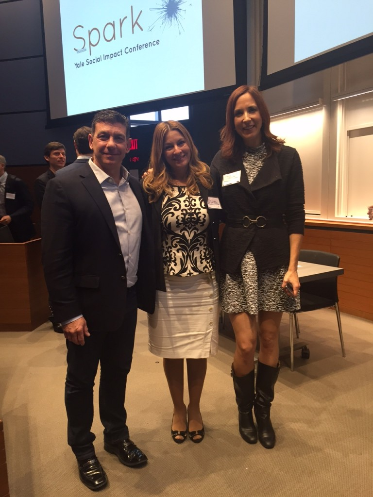 CEO Joe Ferraro, Customer Relationship Manager Hannah Von Der Osten, and Director of Marketing Marisa Mitchell