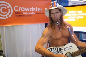 Crowdster Reveals the Naked Truth to Nonprofits at Fundraising Day in New York